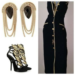 Dresses & Skirts - Vintage 80's Maxi Dress. Accessories NOT included.